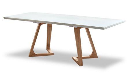 Стол раскладной от производителя Avalon (140) Цвет белый, ясень