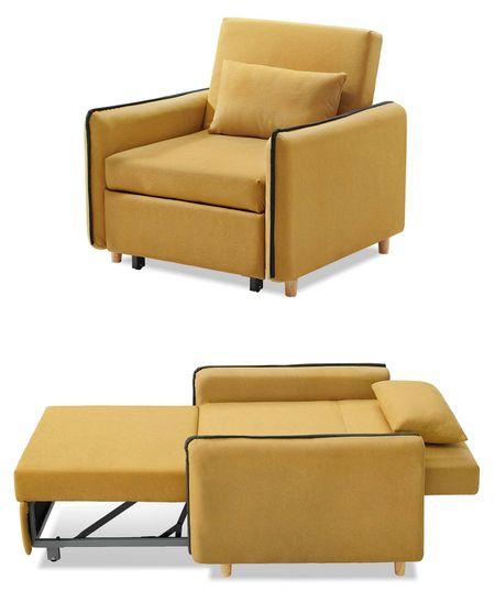 Кресло-кровать от производителя Arizona Цвет желтый,графит