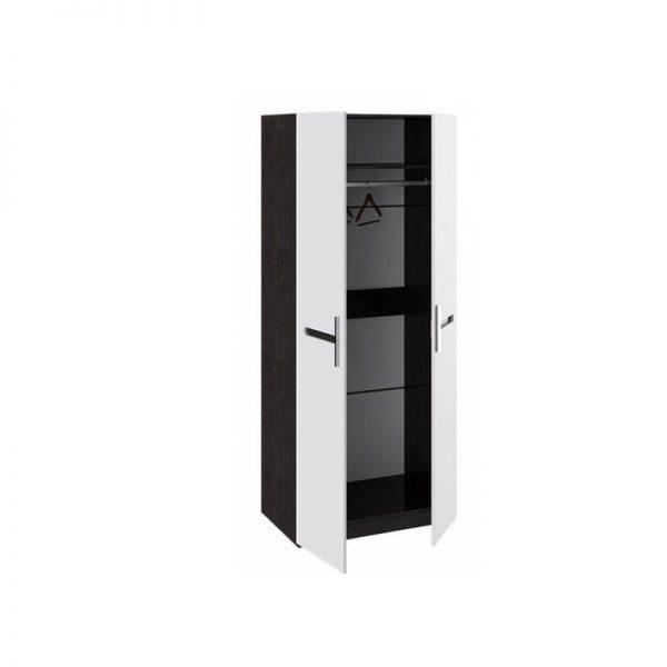 Платяной шкаф от производителя Smart мебель Фьюжн Цвет белый