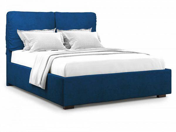 Кровать полутороспальная с ПМ от производителя Trazimeno (140х200) Цвет синий