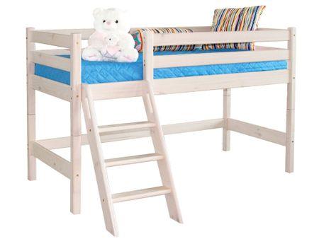 Кровать детская от производителя Соня (80х190) Цвет бесцветный лак