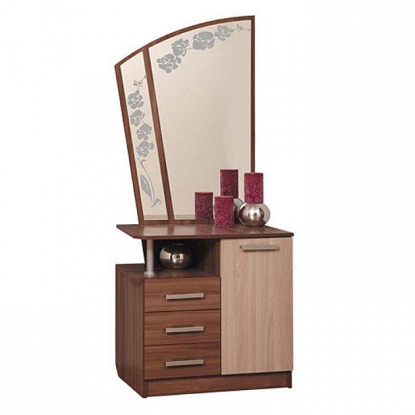 Туалетный столик от производителя Олимп-мебель Орхидея-2 Цвет дуб линдберг, ясень шимо темный