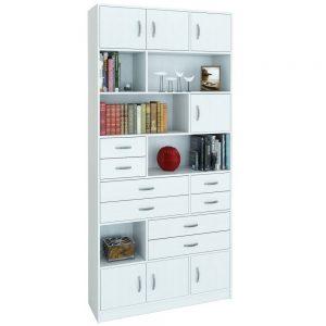Шкаф комбинированный от производителя МФ Мастер Либерти-31 Цвет белый, дуб сонома