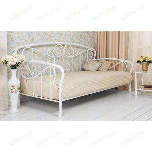 Кровать односпальная от производителя Woodville Sofa Цвет белый