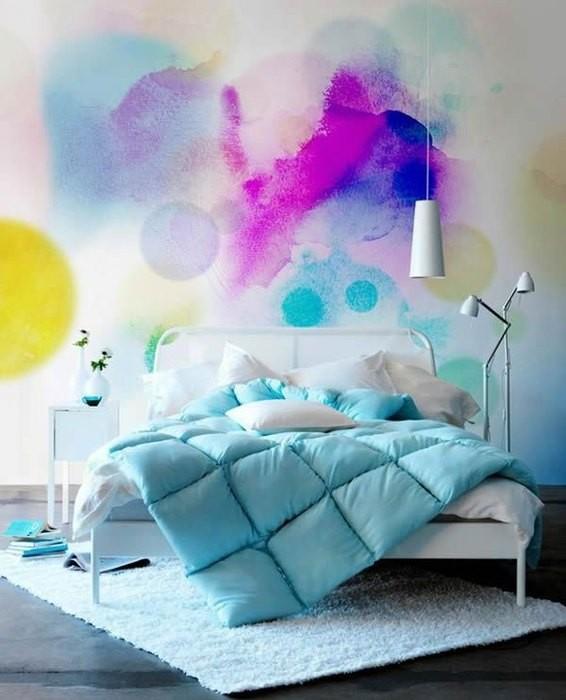 Покраска стен и дизайна интерьера
