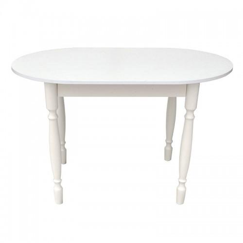 Стол обеденный овальный от производителя Катрин Цвет белый