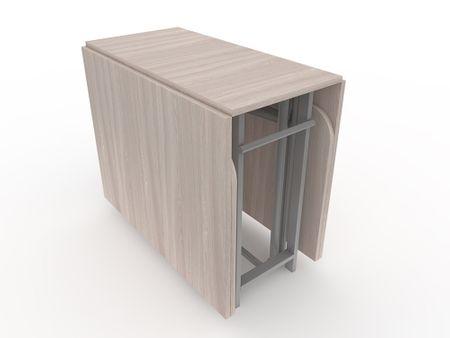 Стол-книжка (трансформер) от производителя Maksimus - 2 Цвет серый