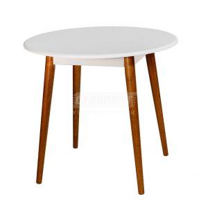 Стол обеденный от производителя Зона Завтрака Орион Цвет белый
