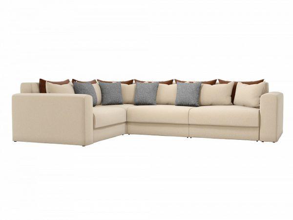 Угловой диван-кровать от производителя Мэдисон Long Левый Цвет бежевый