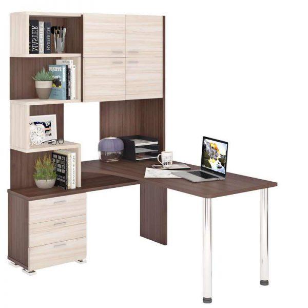 Компьютерный стол от производителя Merdes Домино СР-500М/160 Цвет шамони